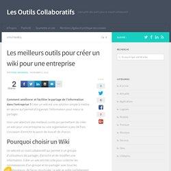3 outils et services pour créer des wikis