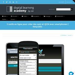 3 outils en ligne pour créer des quiz et QCM avec smartphones