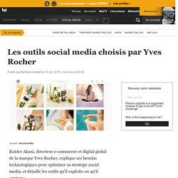 Les outils social media choisis par Yves Rocher