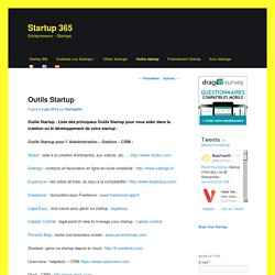 Outils Startup