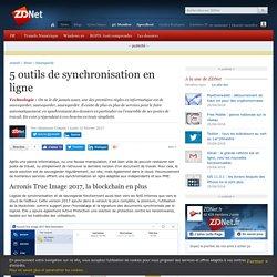 5 outils de synchronisation en ligne - ZDNet