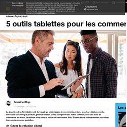 5 outils tablettes pour les commerciaux