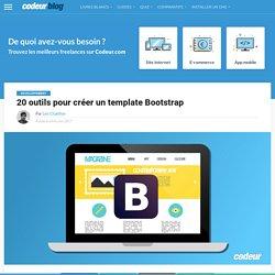 20 outils pour créer un template Bootstrap