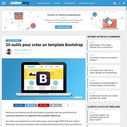 → 7 Outils pour créer un template Bootstrap