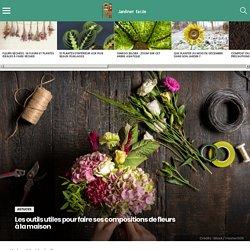 Les outils utiles pour faire ses compositions de fleurs à la maison