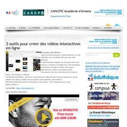2 outils pour créer des vidéos interactives en ligne
