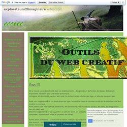Outils du Web créatif