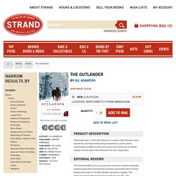 The Outlander in Fiction Fiction at Strand Books