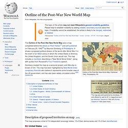 1942 New World Map