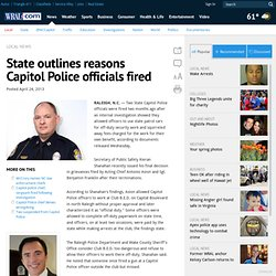 State outlines reasons Capitol Police officials fired