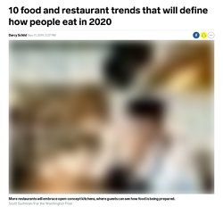 An outlook of 2020's biggest food and restaurant trends - Insider