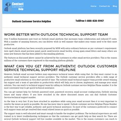 Outlook Customer Service 1-888-828-5947 Helpline Phone Number