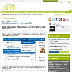 Outlook.com lancé officiellement aujourd'hui