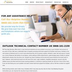 Outlook Support Number UK 0808-101-2159 Outlook Helpline Number UK