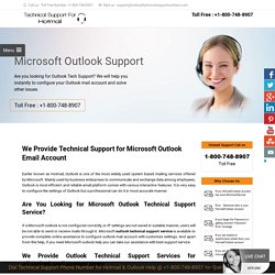 #1800-748-8907 Outlook Technical Support Phone Number