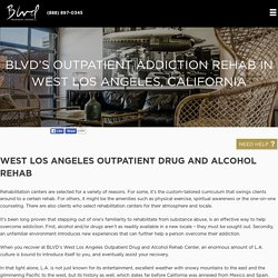 Outpatient Alcohol & Drug Rehab Los Angeles