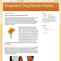 Outpatient Drug Rehab Florida: US and Floridians Alcohol Rehab Center