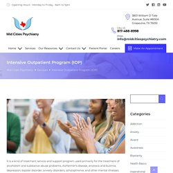 Intensive Outpatient Program by Mid Cities Psychiatry