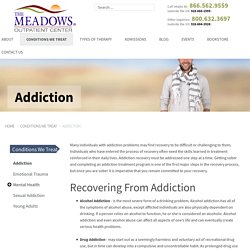Outpatient Treatment for Alcohol, Drug & Gambling
