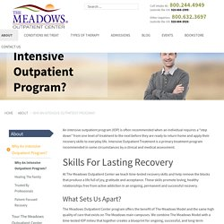 Intensive Outpatient Program - The Meadows Iop Scottsdale