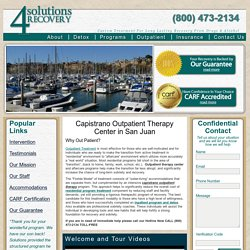 Capistrano Alcohol Treatment