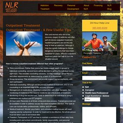 Outpatient Treatment - Next Level Recovery