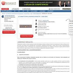 Le Cabinet d'Outplacement INTERACTIF - Paris 8ème - PARIS 08EME ARR sur ICI Formation