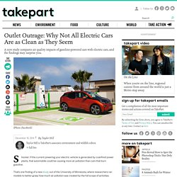 Outlet Outrage: Why Not All Electric Cars Are as Clean as They Seem