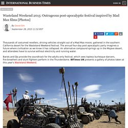 Wasteland Weekend 2015: Outrageous post-apocalyptic festival inspired by Mad Max films [Photos]