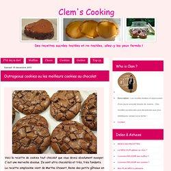 Outrageous cookies ou les meilleurs cookies au chocolat
