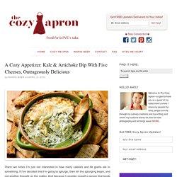"""Outrageously Delicious"" Kale & Artichoke Dip"