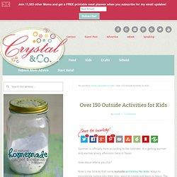Activités à l'extérieur pour les enfants