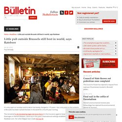 Little pub outside Brussels still best in world, says Ratebeer