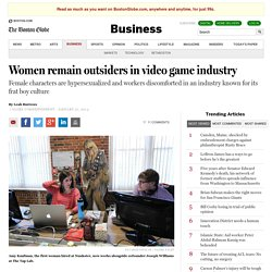Women remain outsiders in video game industry