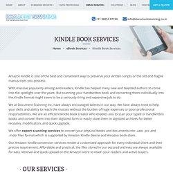 Outsource Kindle Conversion Services, Amazon Kindle Book Creator