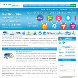 outsource web development, Outsource PHP Development, php development company india