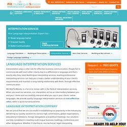 Outsource interpretation services 2 India, Interpretation services company