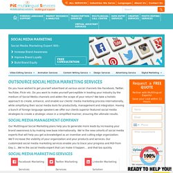 Outsource social media marketing services, Social media outsourcing India