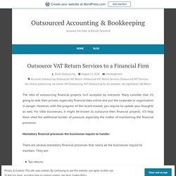 VAT returns - Doshi Outsourcing