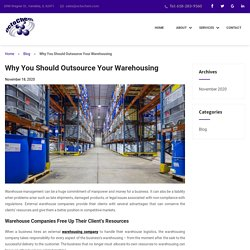Why You Should Outsource Your Warehousing