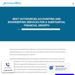Outsourced Accounting and Bookkeeping Services for Businesses