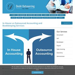In-House vs Outsourced Accounting Services