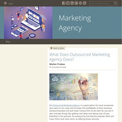 What Does Outsourced Marketing Agency Does? - Marketing Agency : powered by Doodlekit