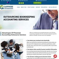 Accounting Outsourcing Services In UK