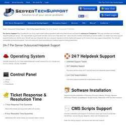 Per Sever Support - Outsourced IT HelpDesk