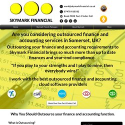 Outsourced finance and accounting service
