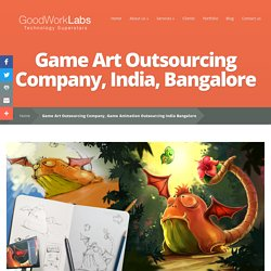 Game Art Outsourcing Company, Game Animation Outsourcing India Bangalore