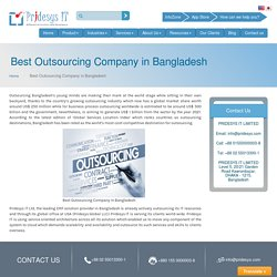 Best Outsourcing Company in Bangladesh