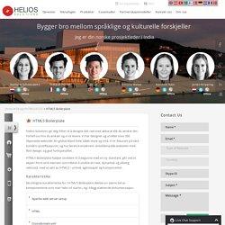 HTML5 Boilerplate Utvikling Spesialist