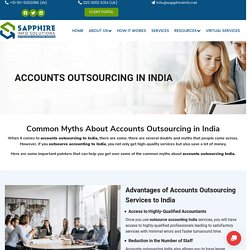 India'S Best Outsource Accounting Services